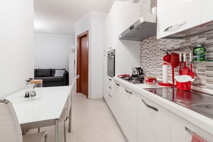 Relax in a cozy, quiet and newly renovated flat ❤️