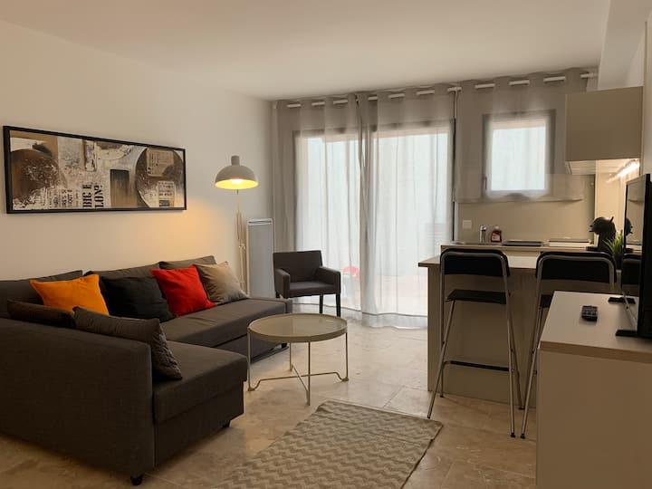 Appartement Patio Intra-Muros