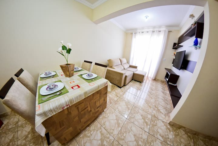 Two Bedroom Apartment - Bairro Santa Mônica