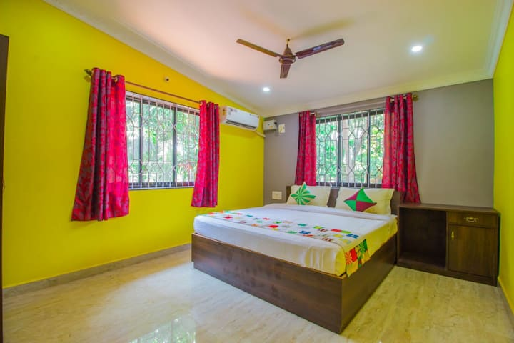Patnem Beach Jungle Holiday Home A-1 BHK Flat-A/C