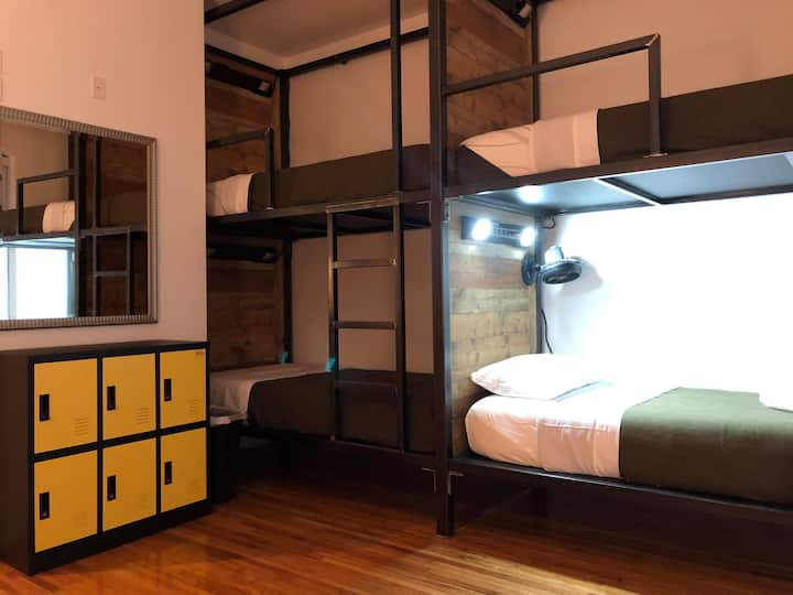 Single Bunk in Bunk Room (COED)