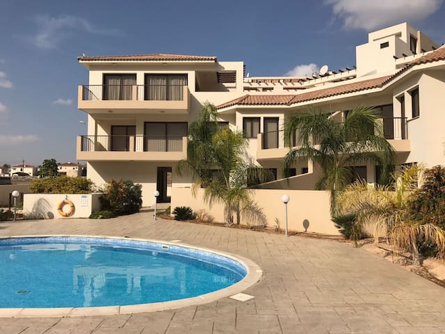 Luxury 2 bed Apartment & Pool - Pyla