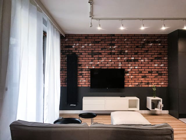 Very modern, bright and cozy apartament