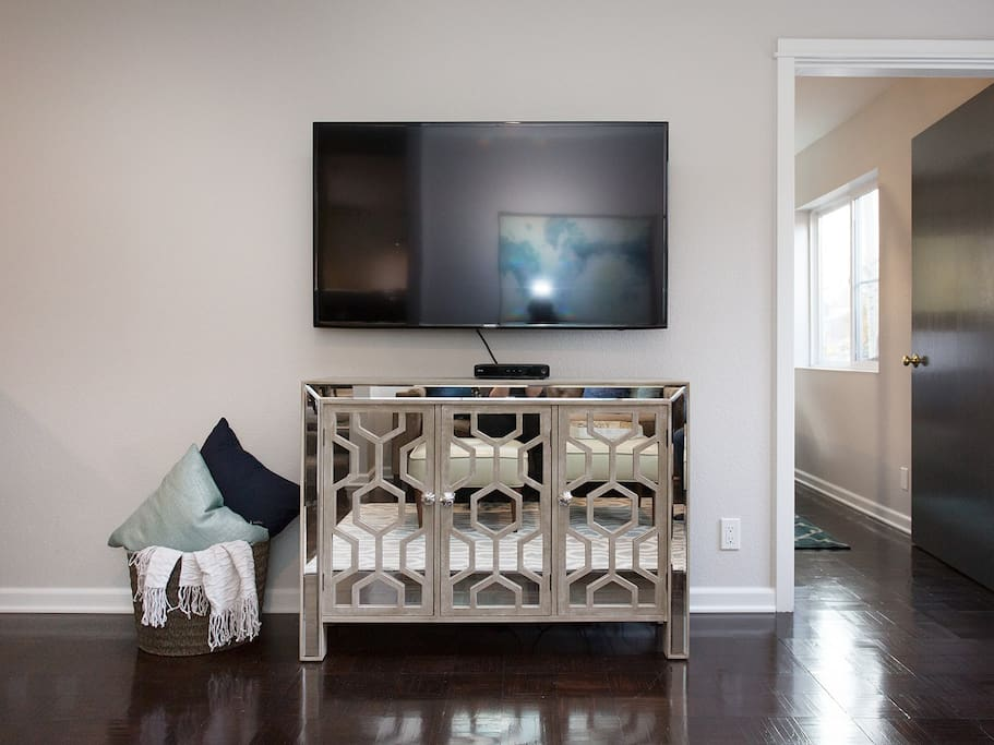 Family Room 46inch HD Smart TV