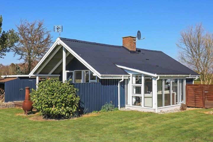 Geräumiges Ferienhaus in Fünen mit überdachter Terrasse