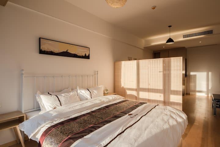 溪禾公寓商务大床房