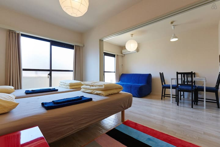 Cozy Apt  betw Shinagawa & Shibuya - Shinagawa - Appartement