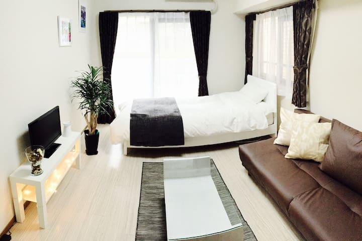 Best location in Fukuoka w/ wifi - Fukuoka-shi - Appartement