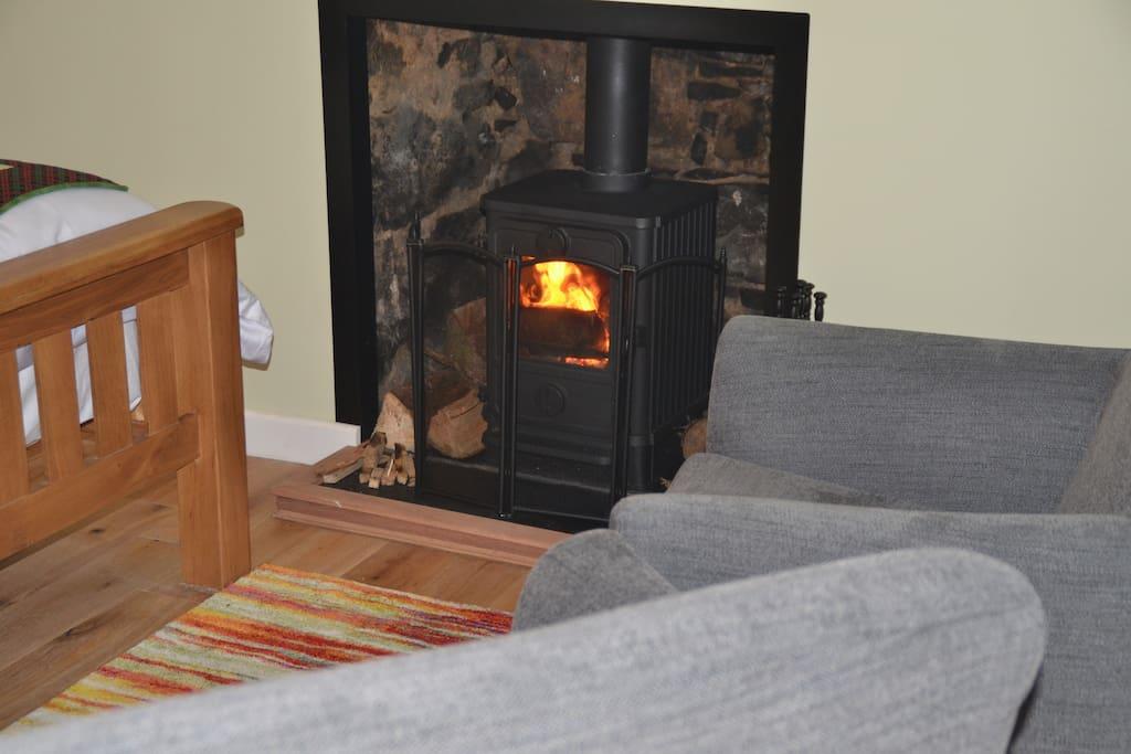 Fantastic little wood burner