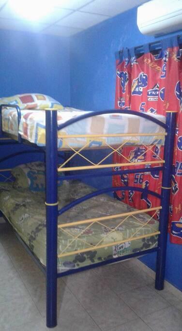 Dos camas completamente comodas