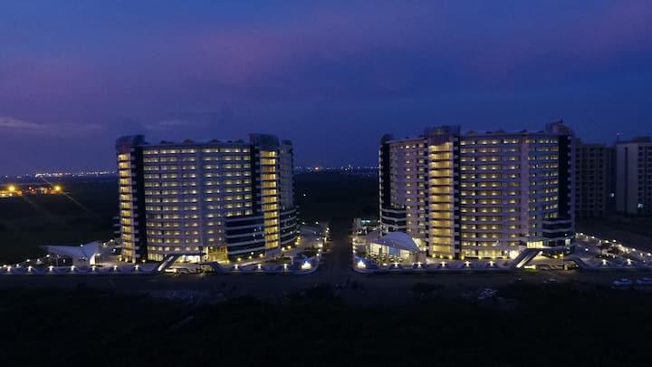 Three lavish 2 BHK Apartments at Rajhans Belliza.