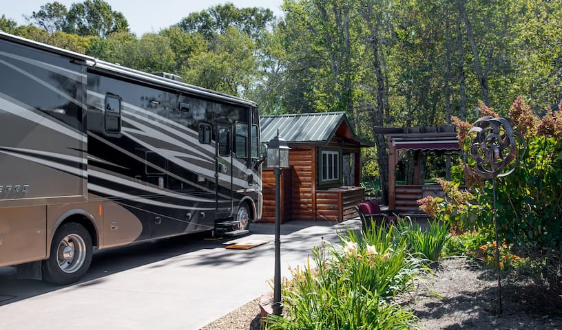 Blue Ridge Mountain RV Resort Campsite