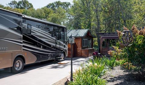 Blue Ridge Mountain RV Resort Campsite
