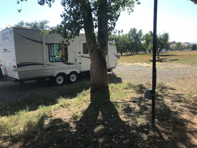 RV Spaces with 30amp electric, horse corrals