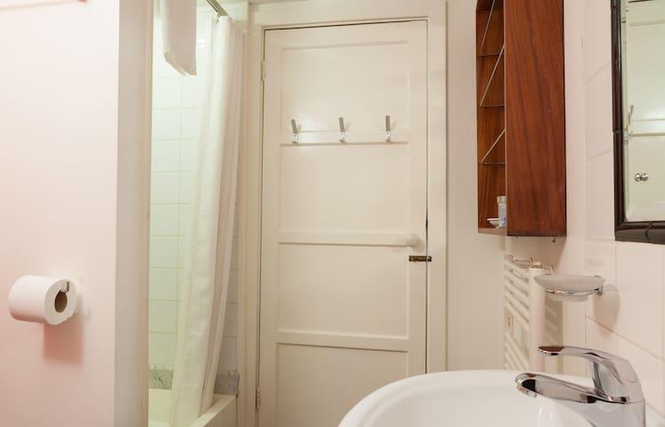Bathroom towards door