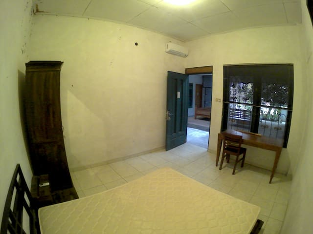 Private room with javanese rustic