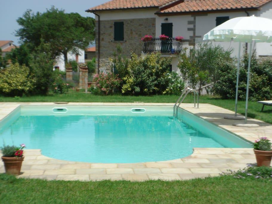 Large 12m x 6m pool