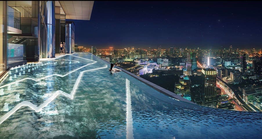 Rooftop Infinity Sky Pool ,  City Heart