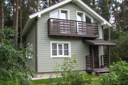 Дом на берегу красивого озера, горнолыжка в 12 км - Pravdino
