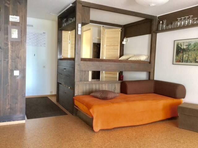 Die Schlafkojen und das Couchbett