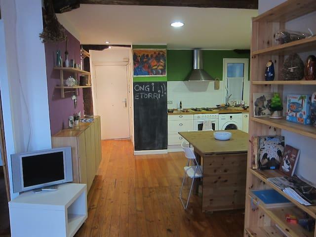 Apartamento en Bilbao la vieja. LBI0238