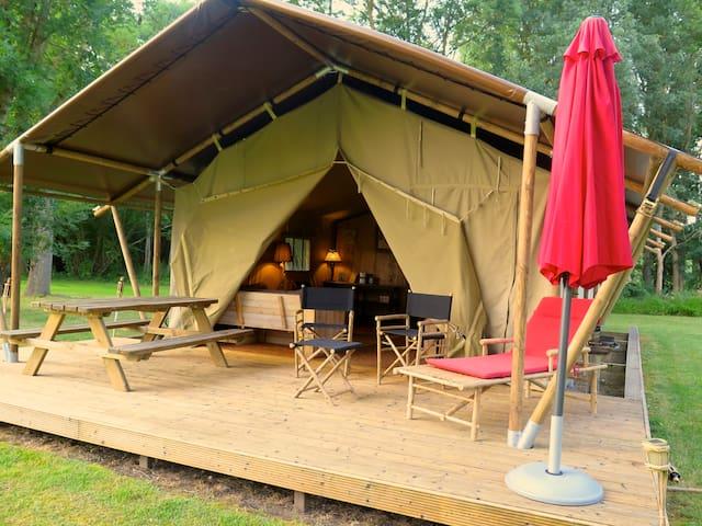 Safaritenten aux Gîtes de Cormenin - Saint-Hilaire-sur-Puiseaux - Tent