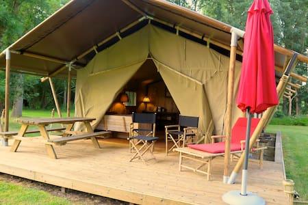 Safaritenten aux Gîtes de Cormenin - Saint-Hilaire-sur-Puiseaux - Zelt