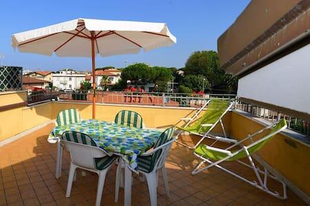 Precious loft w sightseeing terrace - Massa