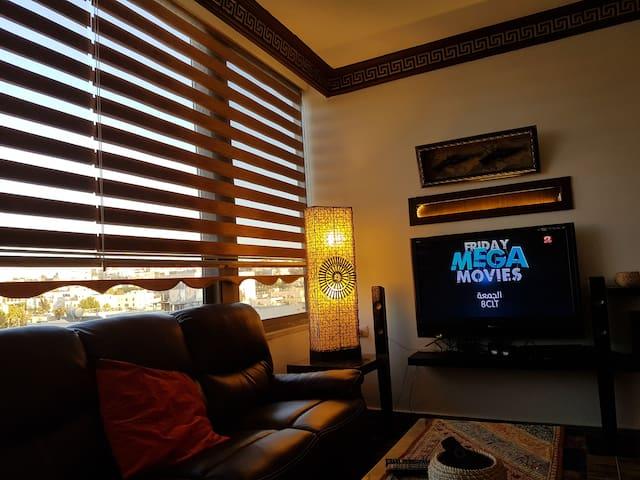 Abdoun home with a view