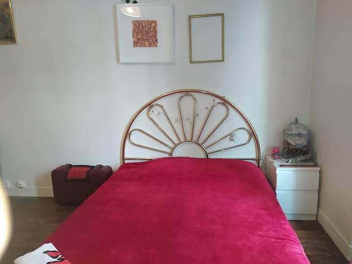 Bedroom near Massy TGV/Orly/Paris