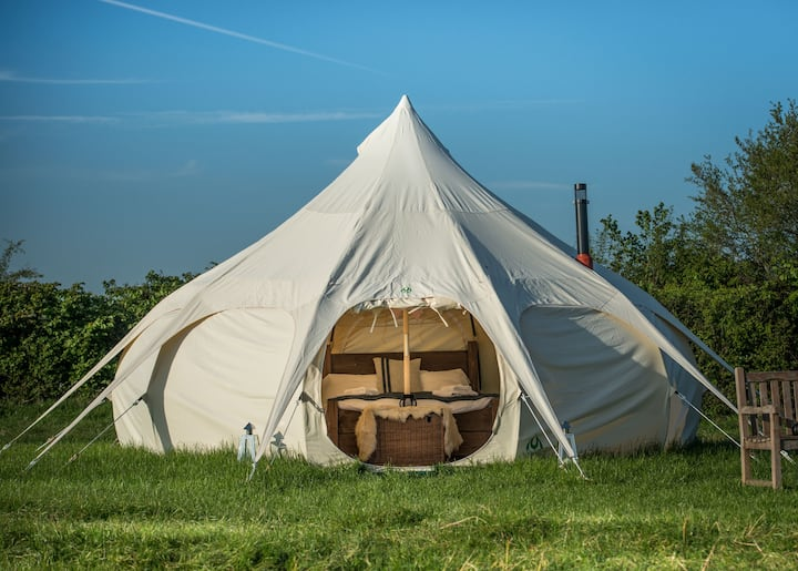 Glamping Belle Tents, Priors Hardwick