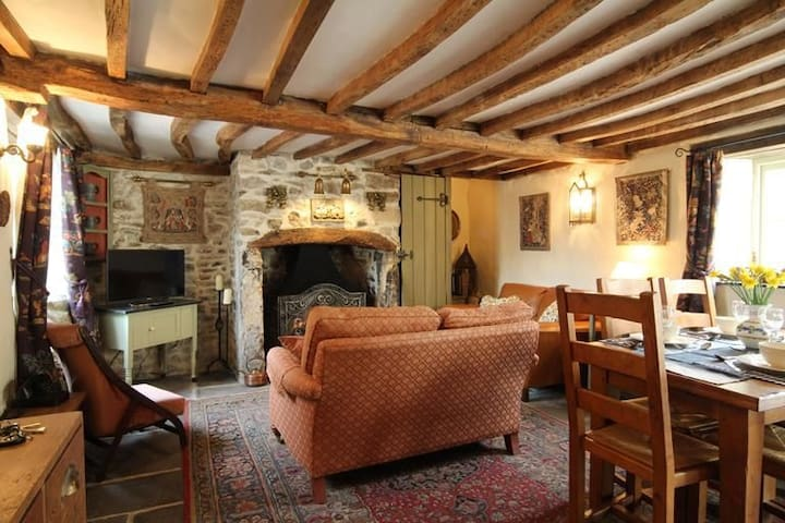 Homekot Sleeps 4, Homekot is a delightful holiday cottage for families or couples alike - Coleford - Haus