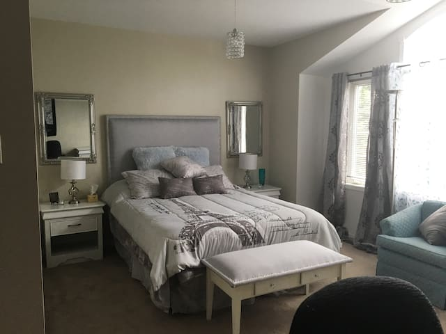 Spacious Master Suite Available in Central Park
