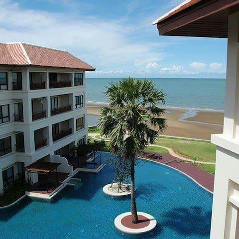 Santi Pura 2 BED 2 BATH Oceanview - Pak Nam Pran - Apartmen