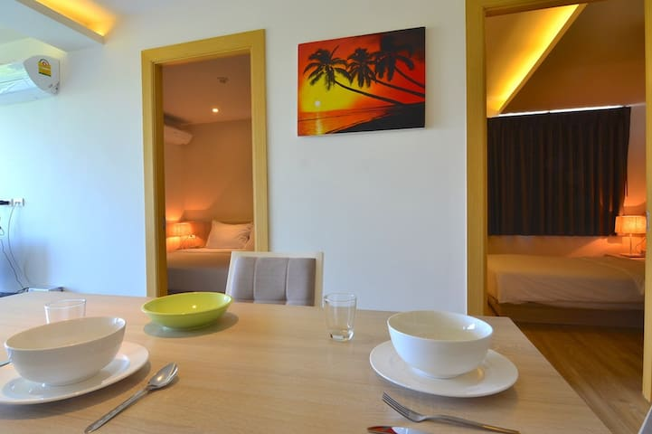 The Bleu - 2 bedroom comfort close to beach - Ko Samui - Apartment