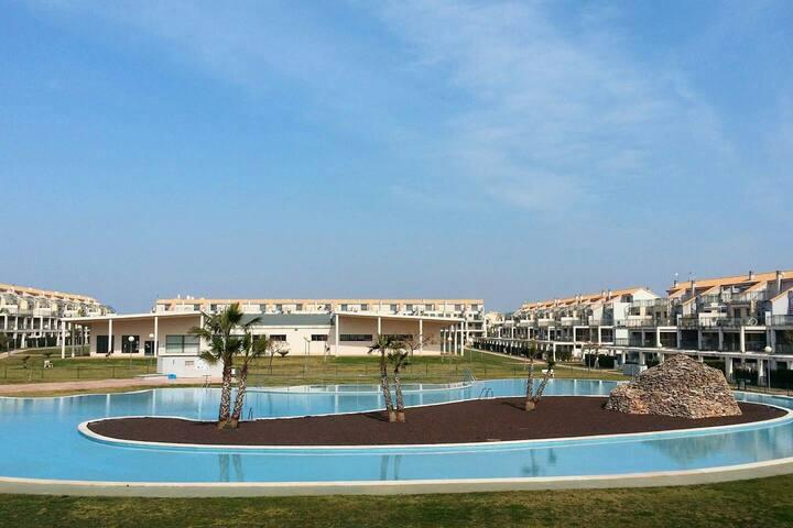 Apartamento Panorámica Golf Resort para 4 personas