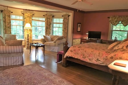 Hallett House Bed & Breakfast - Taylor Suite - Deerwood - Szoba reggelivel
