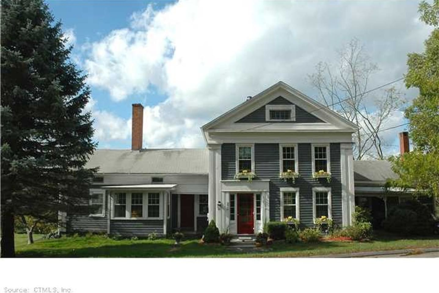 An 1847 Greek Revival country home