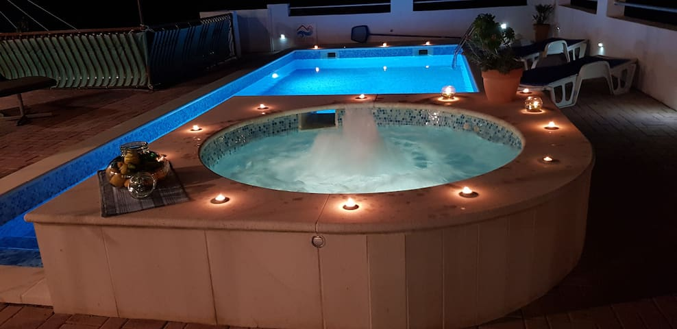 Villa Lucia with private pool and a whirlpool