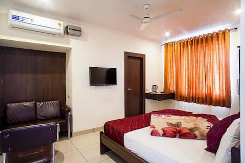 Deluxe Room at Hotel Surya Haldwani