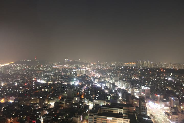 Hongdea-Hapjeong area,3Mins, Panoramic View