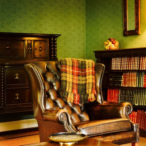 The Lord's chair in the sitting room