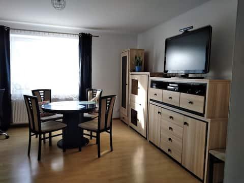 Eleganckie mieszkanie na wsi nad Bałtykiem