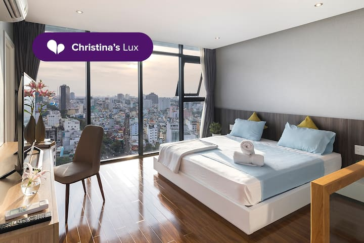 PENTHOUSE LOFT∙CITY VIEW FROM BED & BATHTUB ∙BT192