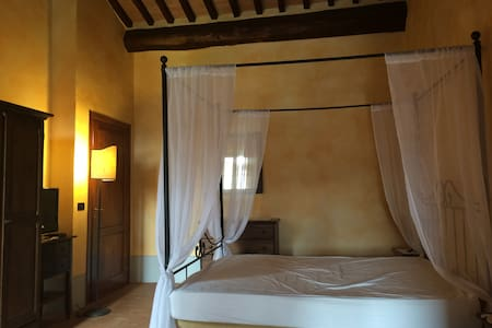Princess double room with a pool - Sarteano