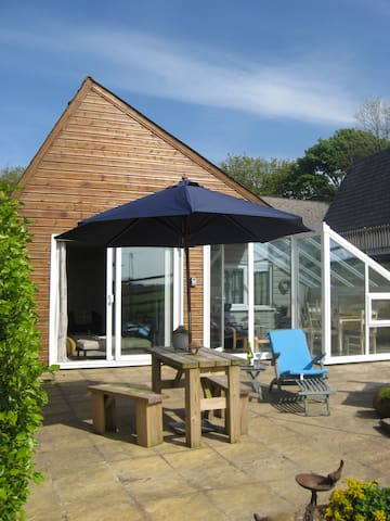 Detached Lodge with private garden wonderful views