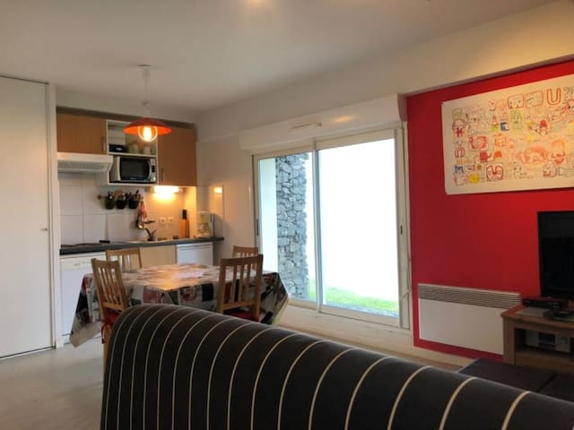 Appartement 2 pièces cabine 6 couchages LA PIERRE ST MARTIN