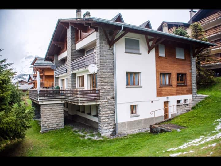 Incredible location. Home from home in Verbier.