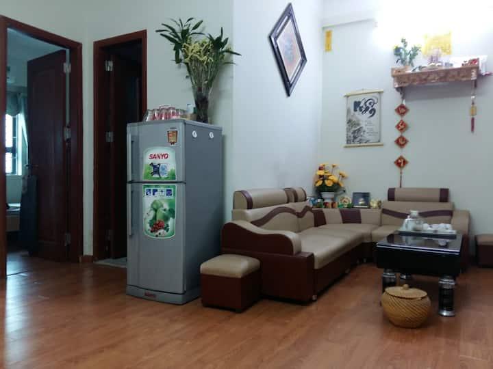 Grande chambre privée équipée à Linh Dam Peninsule