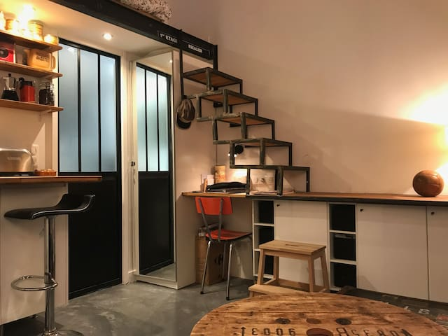 Petit Loft, tranquille et charmant n° (Phone number hidden by Airbnb)